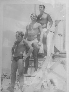 דוד אזולאי (למעלה) אבנר סבג ואפרים שומר
